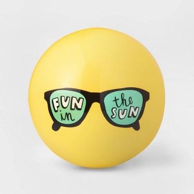 Fun in the Sun Sport Ball Yellow