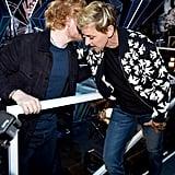 Ed Sheeran and Ellen DeGeneres