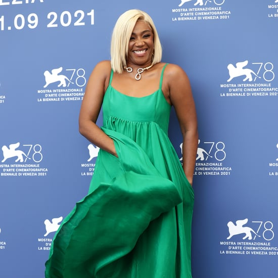 Shop Tiffany Haddish's Emerald Azeeza Dress in Venice