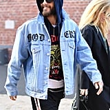 Jared Leto Went For the Denim Jacket