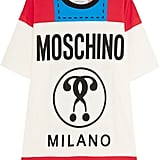 Moschino Printed Cotton-Jersey T-Shirt in Red ($350)