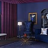 Snow White-Inspired Modern Glam-Style Nook