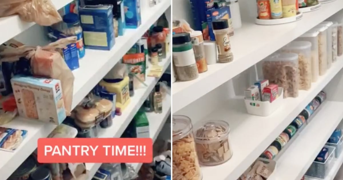 23 Pantry-Organization Videos From TikTok That'll Suck You Down a Rabbit Hole of Containers and Labels
