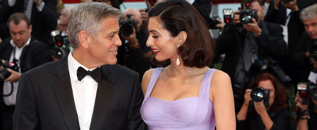 "George Clooney Says Fatherhood Causes Him to ""Cry 4 Times a Day"""