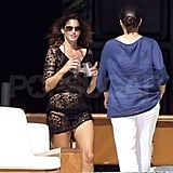 Photos of Cindy Crawford and Elisabetta Canalis