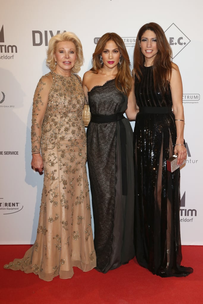 Jennifer Lopez hit the red carpet at the UNESCO Charity Gala in Germany.