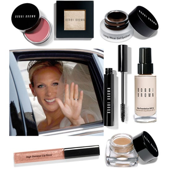 Zara Phillips Wears Bobbi Brown Makeup on Her Wedding Day