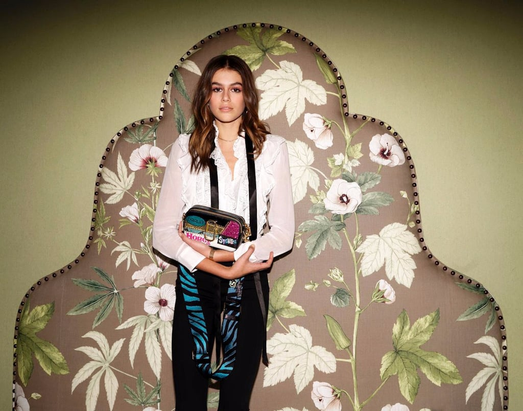 Kaia Gerber Designs Marc Jacobs Bag