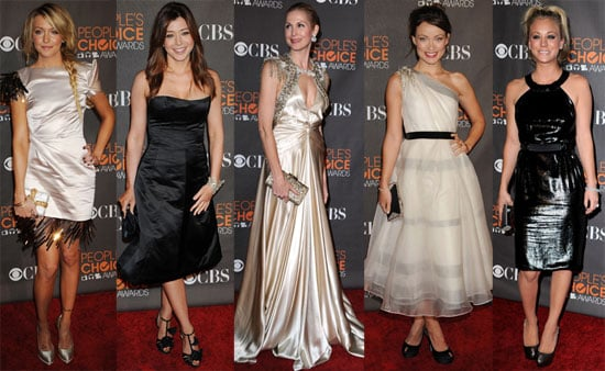 Who was the worst dressed star at the 2010 People's Choice Awards?