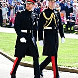 Prince William Wore the Same Uniform as Harry, but This Time Around, He Wore the Gold Aiguillettes