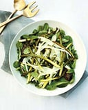 Spring Lettuce Salad with Roasted Asparagus