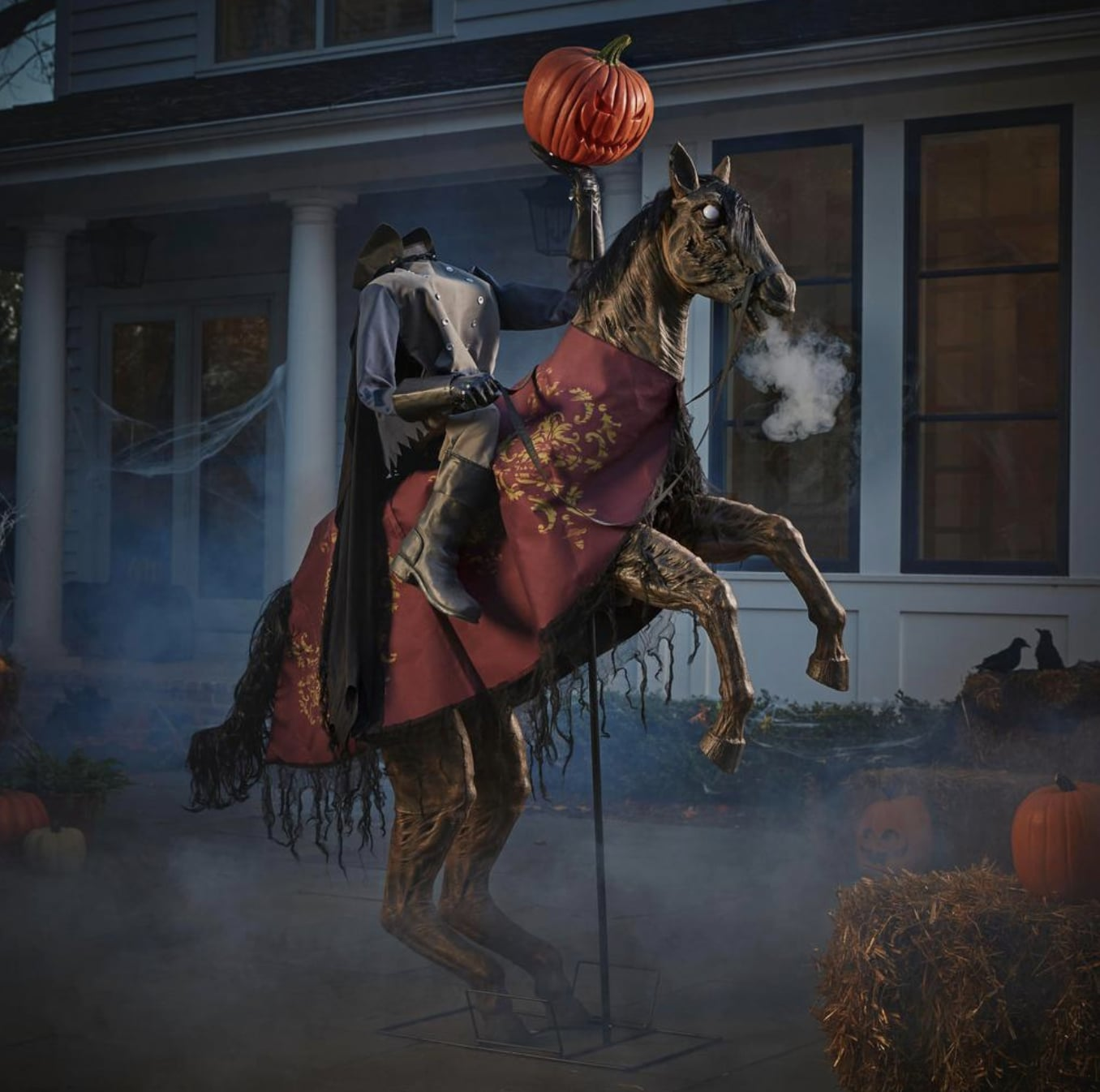 Animated Headless Horseman Icymi Home Depot Has Some Chilling Halloween Decorations Popsugar Home Photo 23