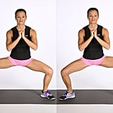 Wide Squat With Calf Raise