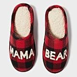 Mama Bear Scuff Slippers