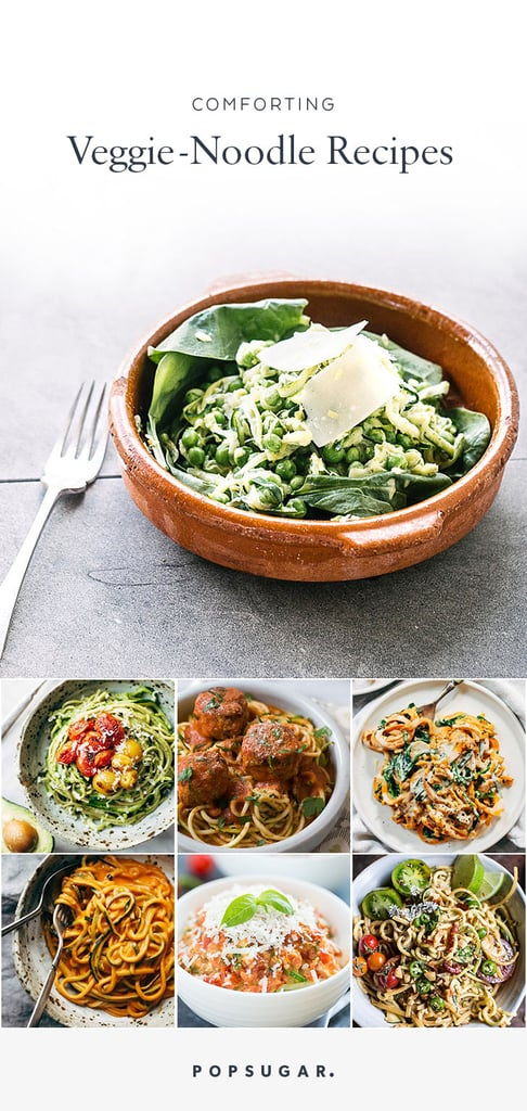Comforting Zoodles Recipes