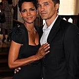 Halle Berry and Olivier Martinez looked sweet together.