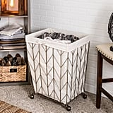 Laundry Basket in Light Gold