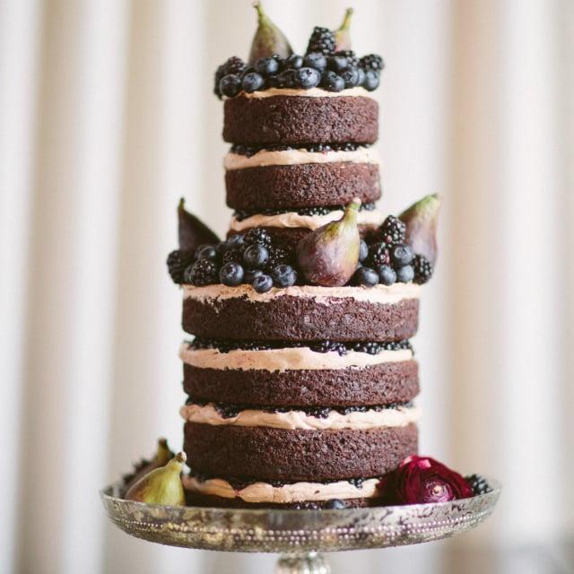 Naked Wedding Cakes POPSUGAR Food