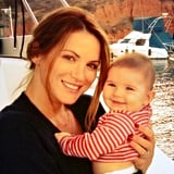 Danneel and Justice took a boat ride together.