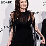 Suddenly, None of Our Little Black Dresses Look as Good as the 1 on Angelina Jolie
