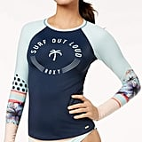 Roxy Pop Surf Graphic Rash Guard Women's Swimsuit
