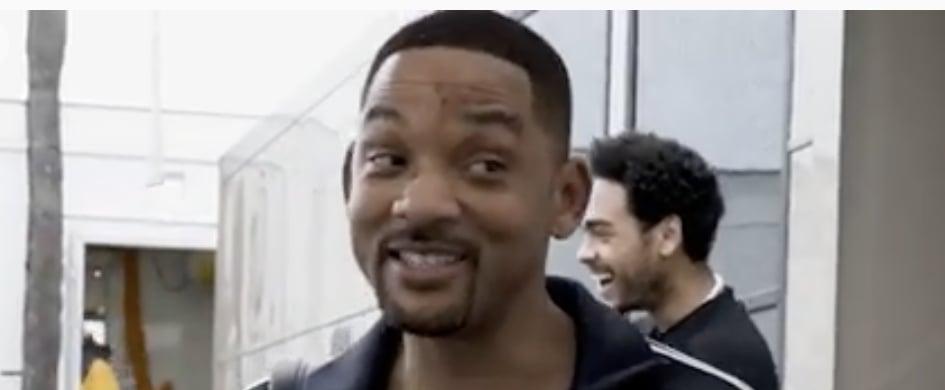 Will Smith Making Fun of Jaden's Ashy Legs Instagram Video