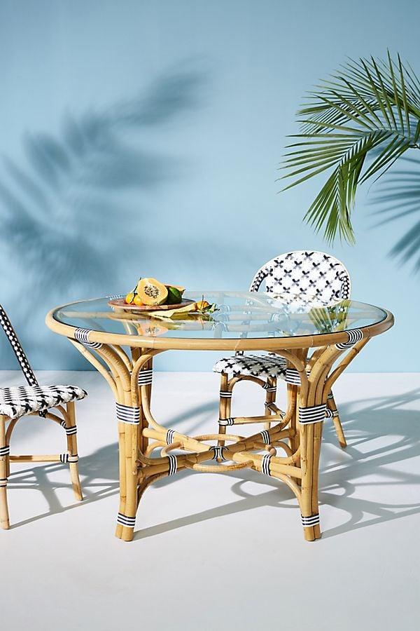 Rattan Indoor Outdoor Bistro Table Best Patio Furniture