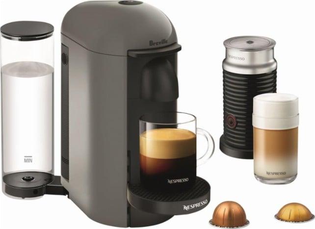 Breville Nespresso VertuoPlus Espresso Maker/Coffeemaker/Milk Frother