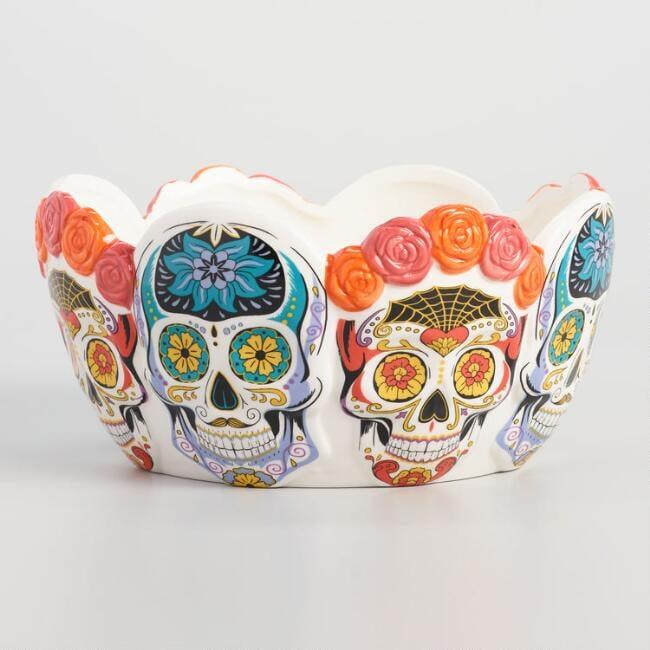 Los Muertos Ceramic Candy Bowl