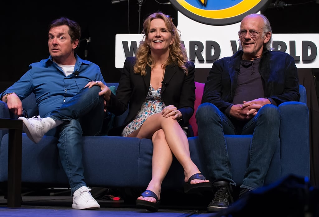 "Fans attending the Wizard World Comic Con in Philadelphia witnessed something very special on June 4 when the cast of Back to the Future sat down for a fun-filled Q&A. The ""Great Scott! Revisiting Back to the Future"" discussion brought interesting insights into the iconic 1985 sci-fi comedy courtesy of the film's three leads, Michael J. Fox, Lea Thompson, and Christopher Lloyd. Although they've all gotten a little bit older (except for Lea — what's her secret?!), the cast laughed it up together and looked like old friends. Check out photos of their sweet reunion here, and then find out the one big thing Back to the Future got wrong."