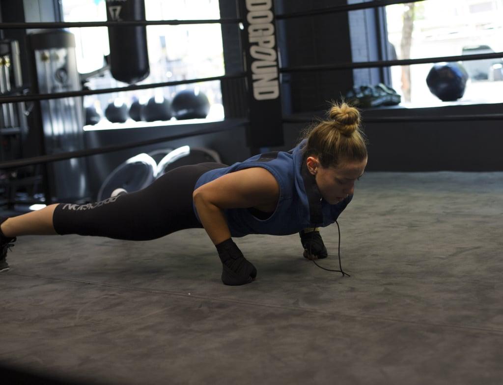 Boxer-style push-ups
