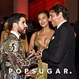 Pictured: Darren Criss, Irina Shayk and Bradley Cooper
