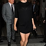 Kate's designer pal Stella McCartney worked an LBD with pointy heels.
