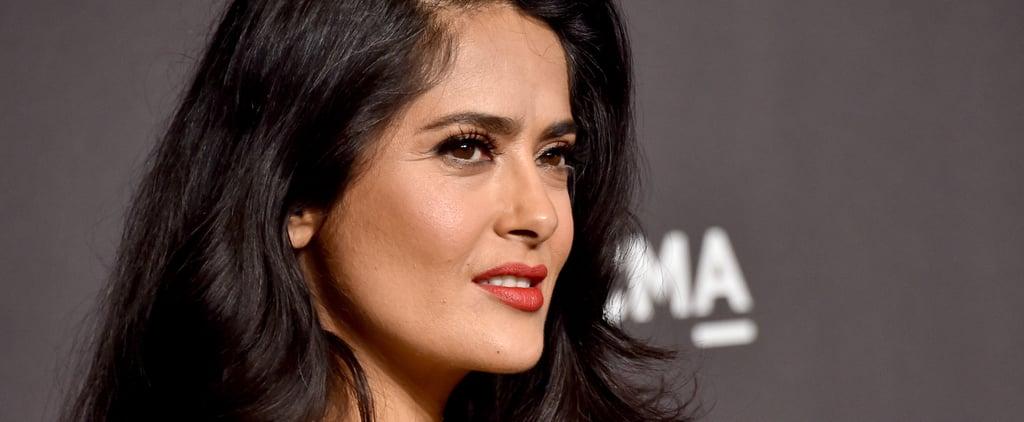 Salma Hayek Grey Hair