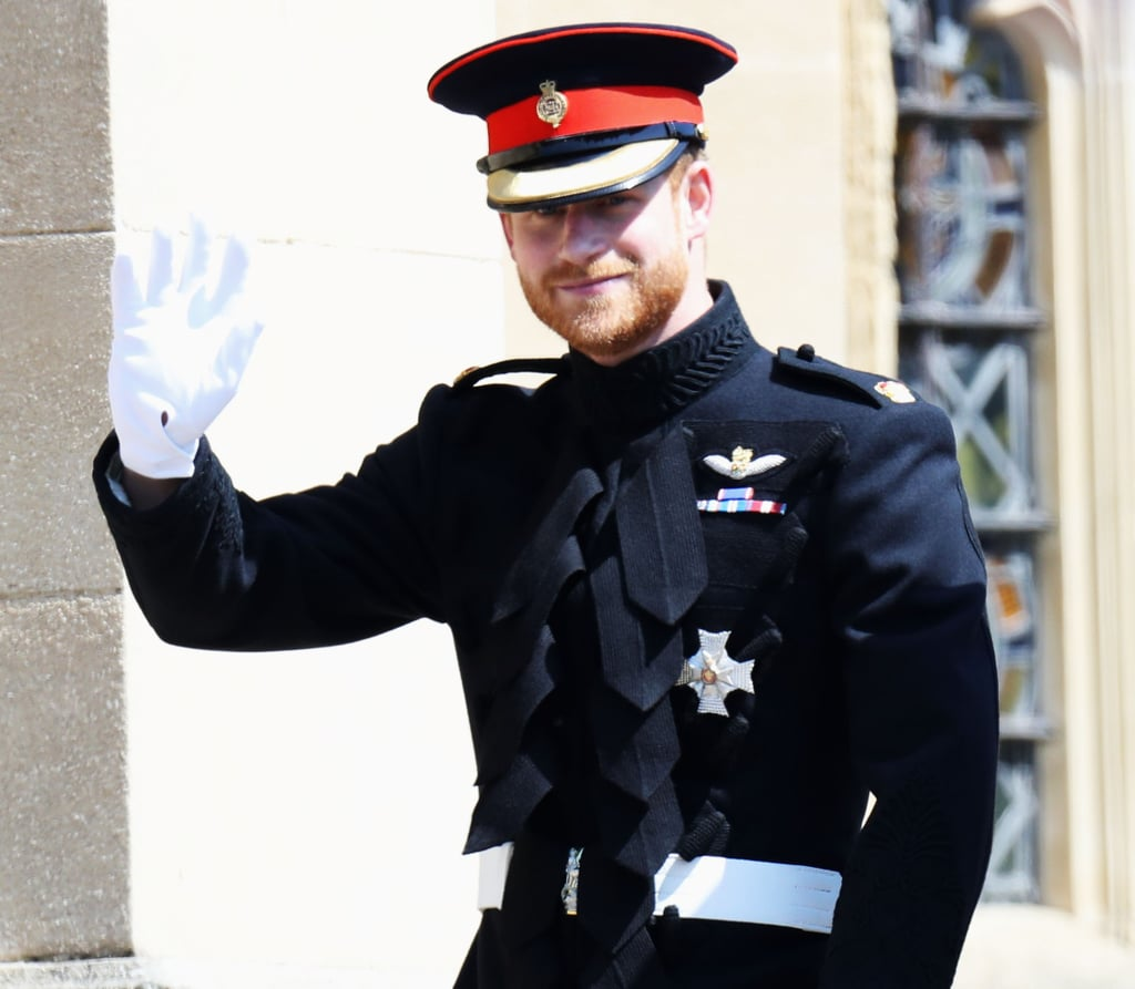 Prince Harry Royal Wedding Outfit