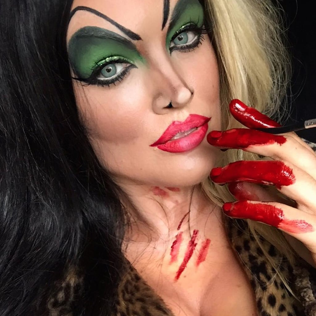 Scary Disney Inspired Halloween Makeup