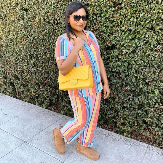 Mindy Kaling's Work From Home Outfits on Instagram