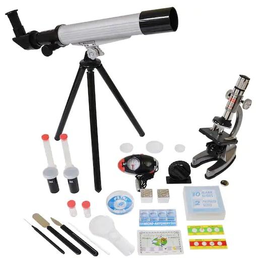 Microscope & Telescope Set