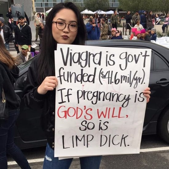 Viagra vs. Pregnancy Viral Protest Sign