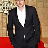 Orlando Bloom at the London premiere of The Three Musketeers.