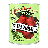 Unsalted Crushed Tomatoes ($2)