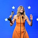 Laura Dern at the 2020 Critics' Choice Awards