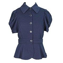 Diane von Furstenberg Nueva Short Sleeve Jacket- $207.00 at Diani