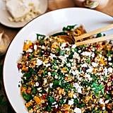 Warm Freekeh, Butternut Squash, and Pomegranate Salad