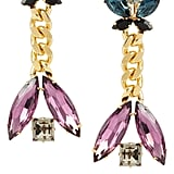 Etro Crystal Clip Earrings ($187, originally $312)