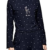 Topshop Oh Deer Polka Dot Short Pajamas