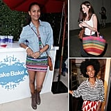 Cinco de Mayo outfit inspiration, courtesy of nine bold, bright, and printed celebrity looks.