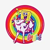 Lisa Frank x SpongeBob Iron-On Patch ($5)