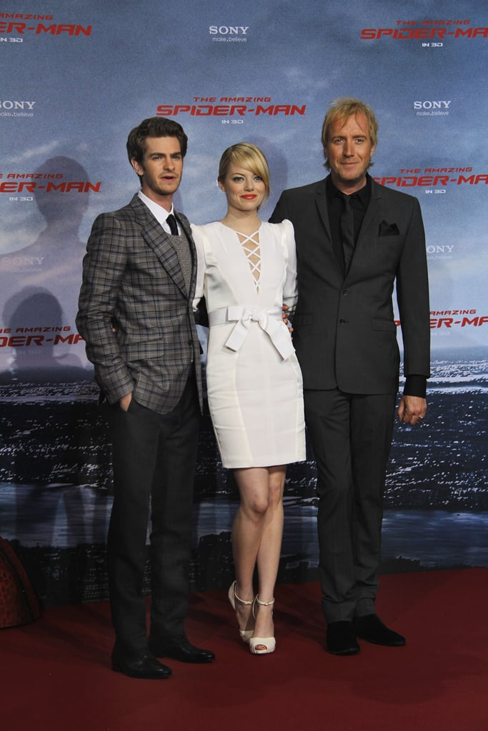 Andrew and Emma Make an Amazing Couple at Their German Premiere