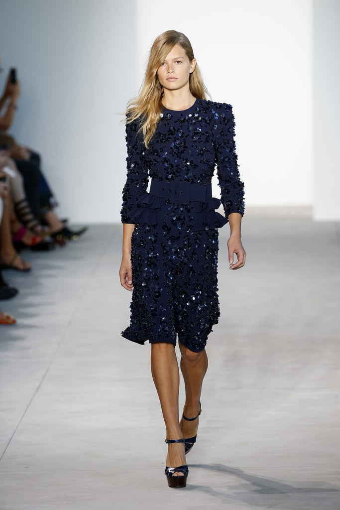The Michael Kors Collection show went down at New York ...